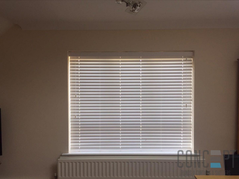 concept blinds wood blind
